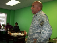 First Sergeant Elvis Everett's Retirement Speech. US Army